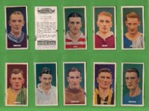 Tobacco cigarette cards Popular Footballers 1936